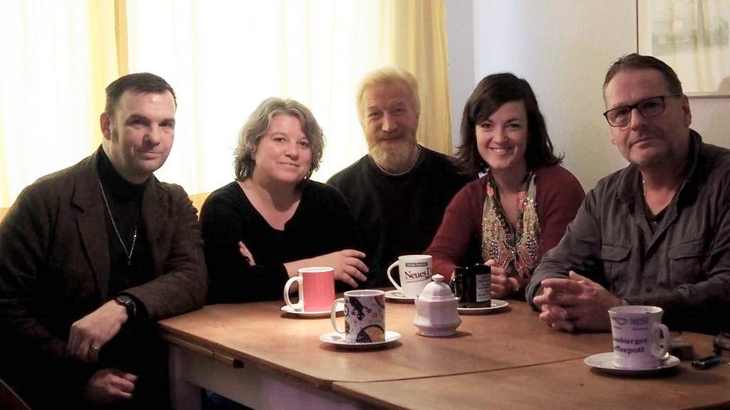 Von links: Markus Frank, Thalia Andronis, Bernd Liesenfeld, Eva-Maria Zimmermann und Andree Willige