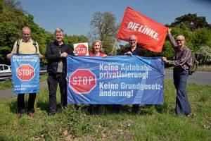 Privatisieren der Autobahnen im Grundgesetz ausschließen