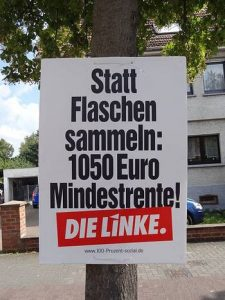 Statt Flaschen sammeln 1050 Euro Mindestrente gegen Armut in Köln und überall