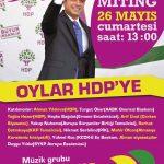 Türkischer Wahlkampf: HDP Wählen!