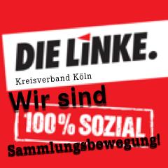 DIE LINKE. Kreisverband Köln zum Thema Sammlungsbewegung