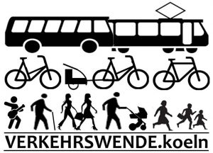 Logo des Bündnisses Verkehrswende in Köln