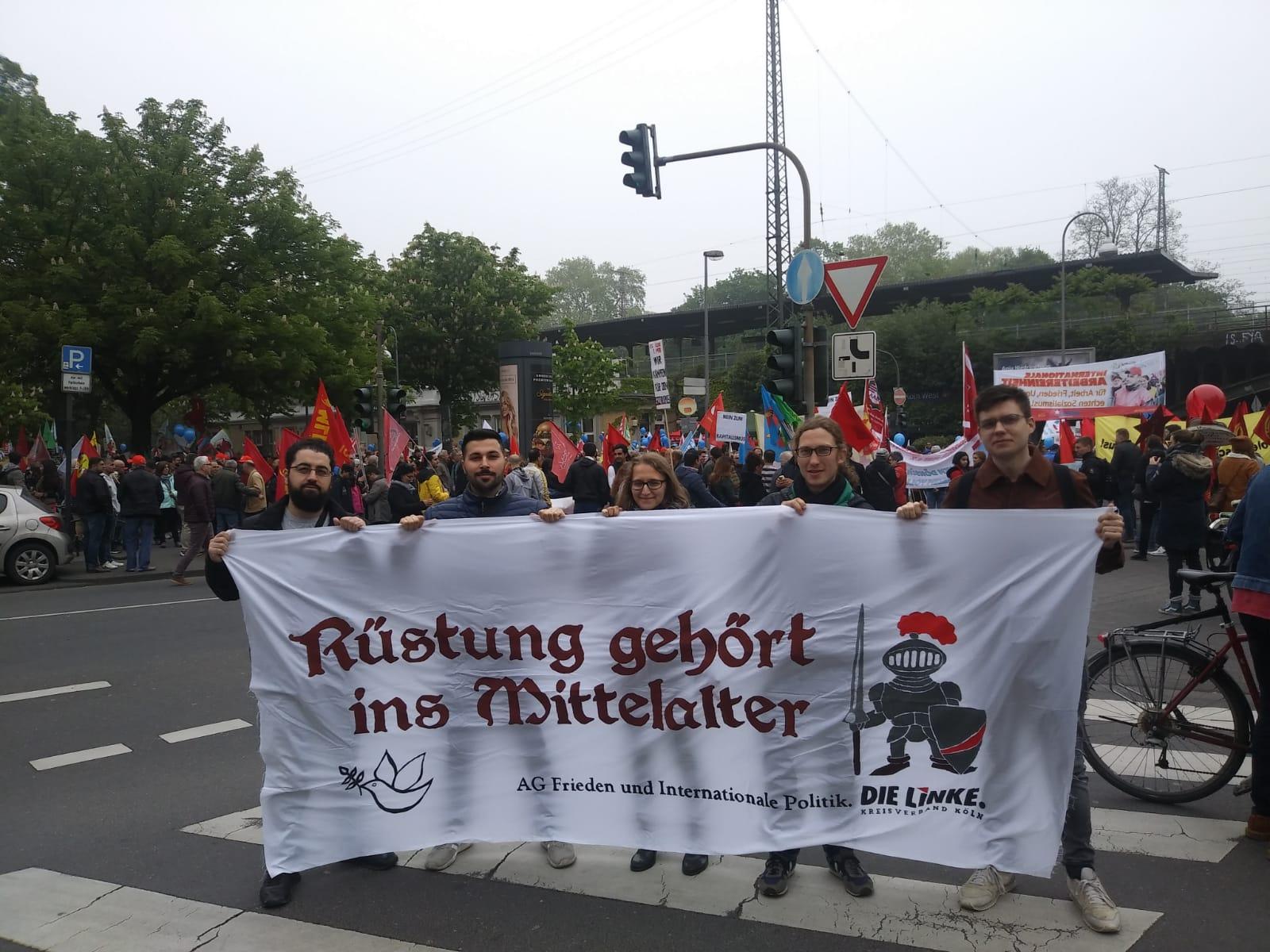 1. Mai in Köln - Europa. Jetzt aber richtig!