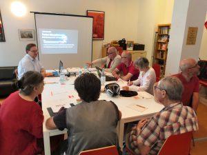 Umweltpolitisches Fachgespräch und Feierabendtalk bei Matthias W. Birkwald