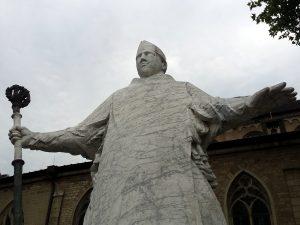 Denkmal des heiligen Sankt Severin in der Kölner Südstadt