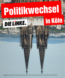 Interview: Warum stellt DIE LINKE Köln erstmals eine/n Kandidat*in für die OB-Wahl auf?