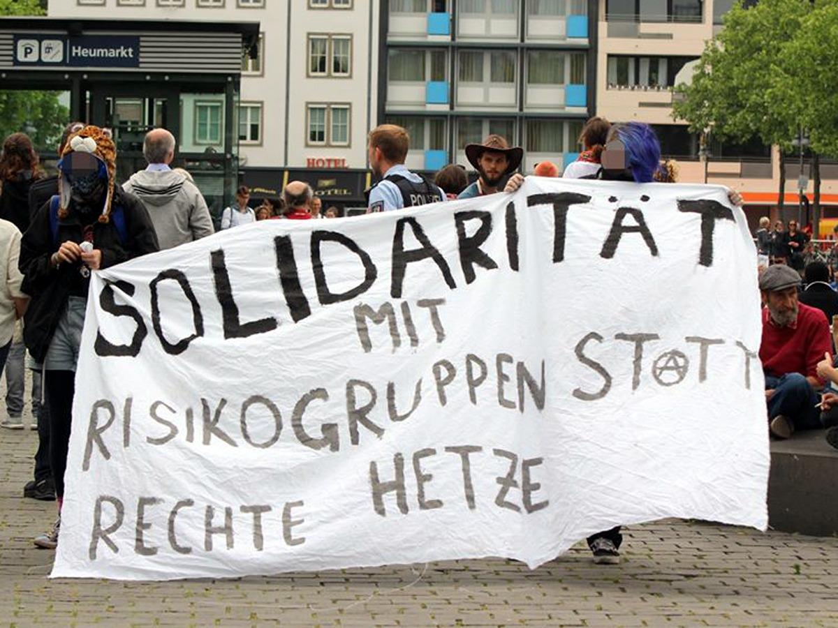 Solidarität mit Risikogruppen statt rechte Hetze