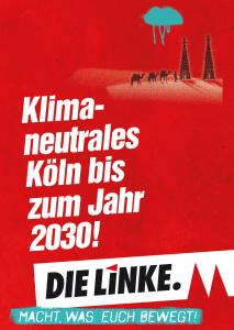 Klimaneutrales Köln bis 2030