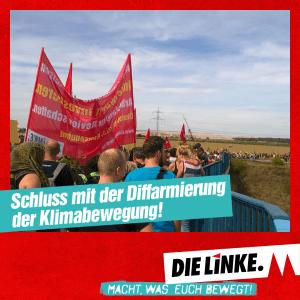 """Solidaritätserklärung der Kölner LINKEN mit der Initiative """"Ende Gelände"""""""