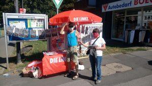 Infostand am 08.08.2020 in Holweide