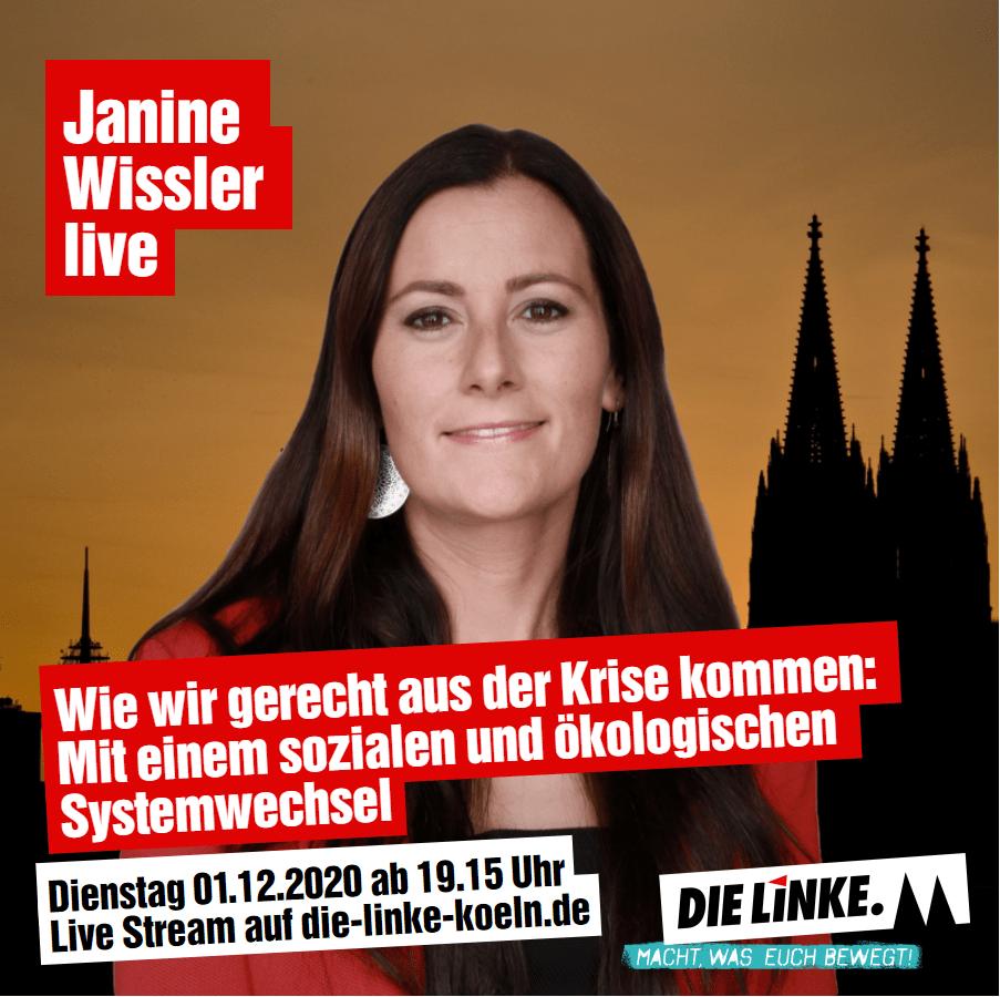 Janine Wissler In Kölle