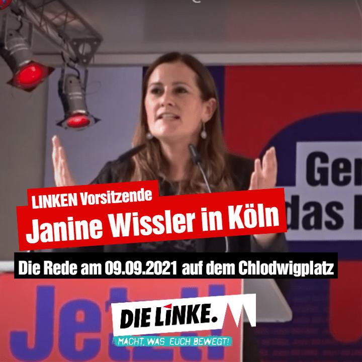 Janine In Köln Die Rede Am 09.09.2021