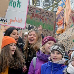 Schüler*innen-Protest gegen den Klimawandel