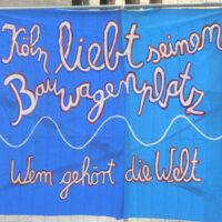Köln liebt seinen Bauwagenplatz
