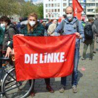 Der Ortsverband am 1. Mai auf dem Kölner Heumarkt