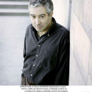 Foto von Didier Eribon Copyright Patrice NORMAND/Opale/Edition Fayard
